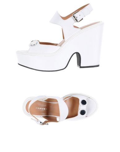 Carven Sandals In White