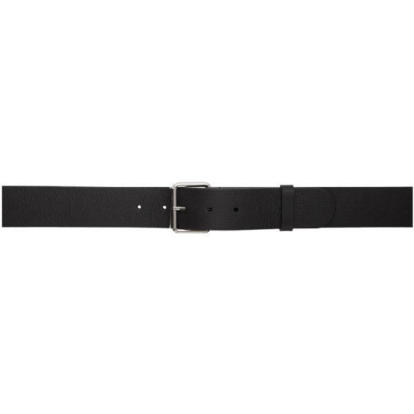 Balenciaga 'Everyday' Buckled Leather Belt In 1064Blkred