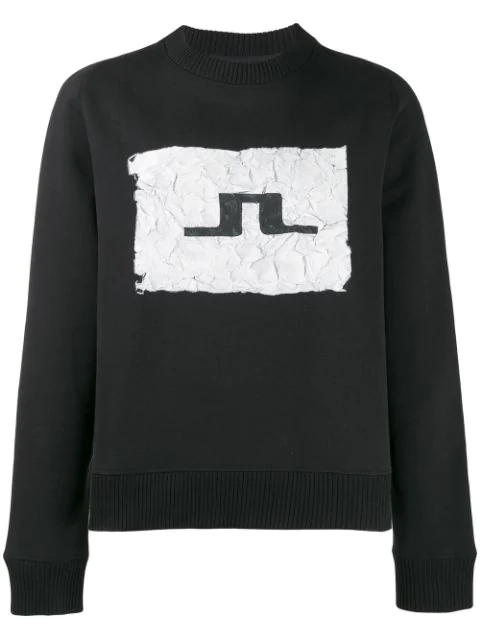 J.lindeberg Sid Logo Sweatshirt In Black