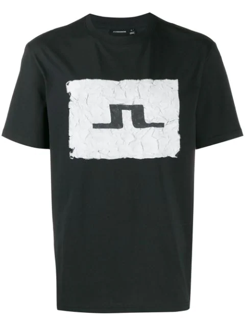 J.lindeberg Jordan Distinct Logo T-shirt In Black