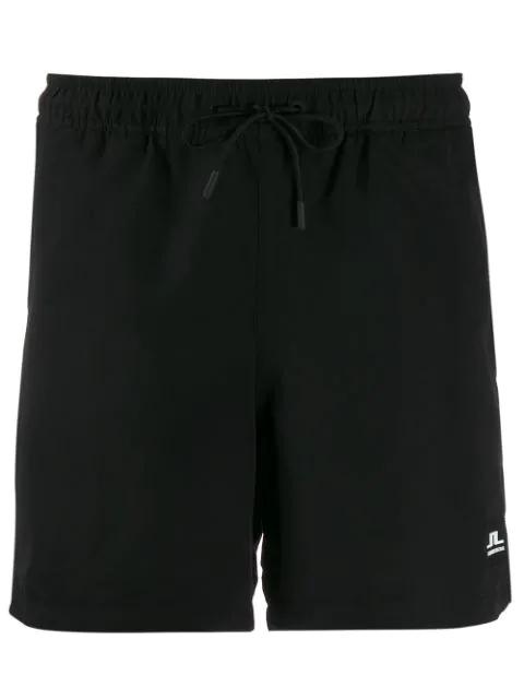 J.lindeberg Banks Logo Swimming Shorts - Black