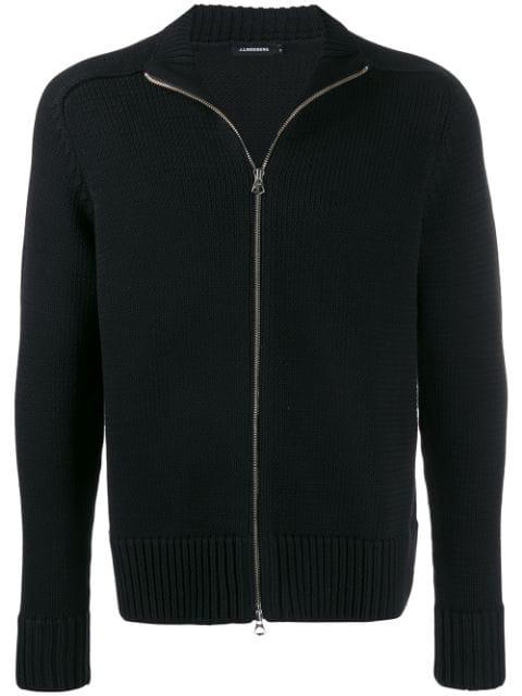 J.lindeberg Timon Zip In Black