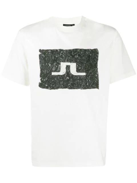 J.lindeberg Jordan Distinct Logo T-shirt In White