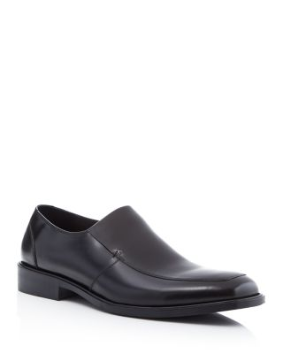 Kenneth Cole Strike It Leather Loafers In Black