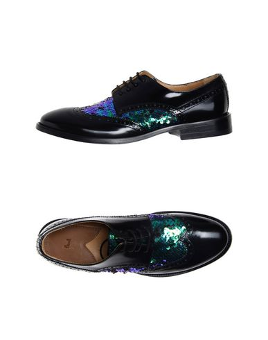 Paul Smith Laced Shoes In Black