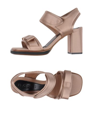 Marni Sandals In Light Brown