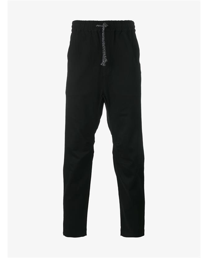 White Mountaineering Drop Crotch Track Pants In Blue