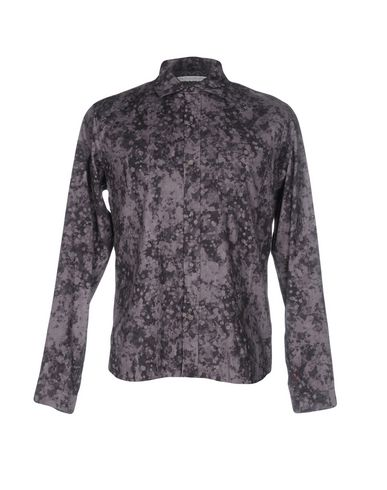 White Mountaineering Patterned Shirt In Grey