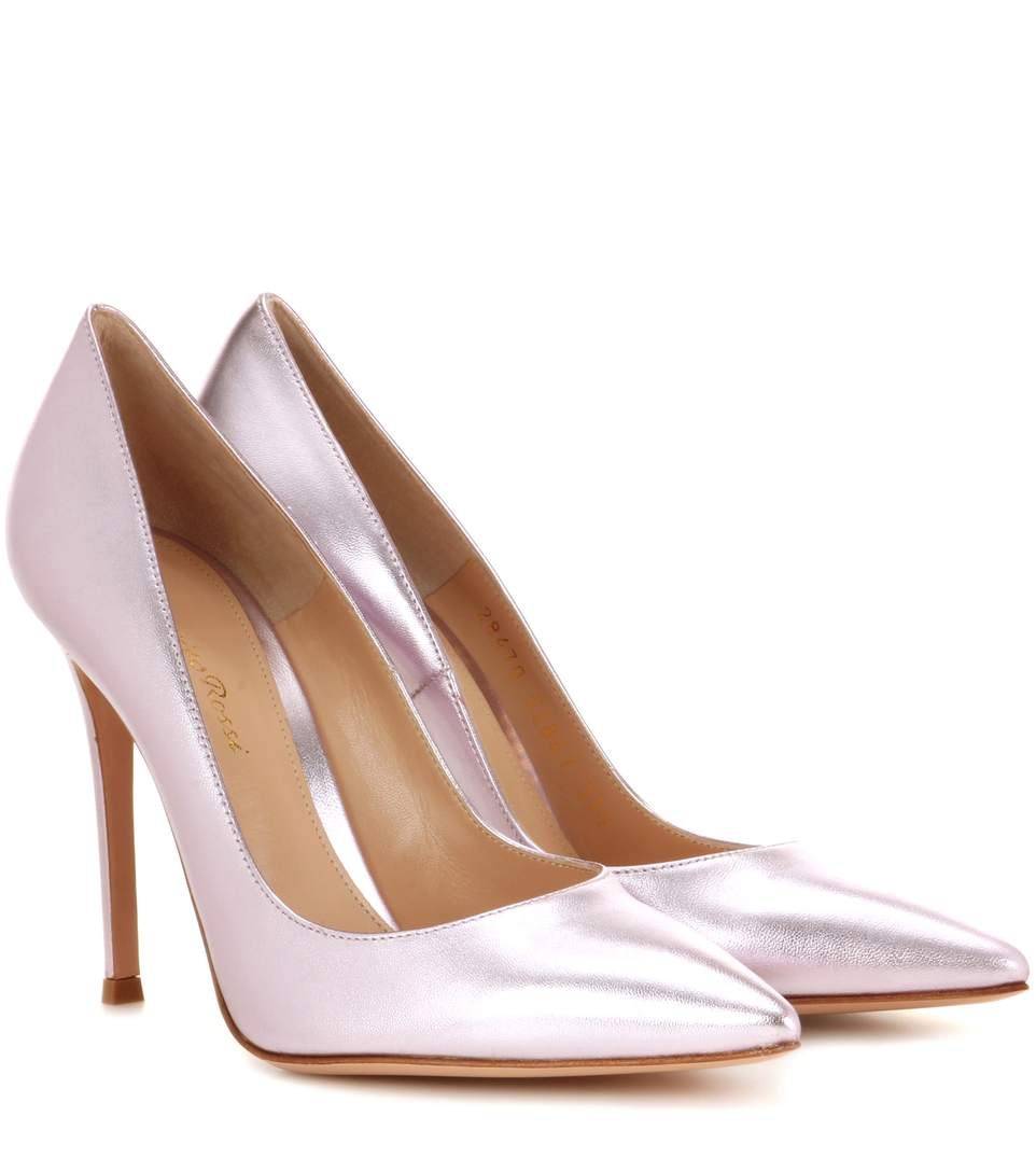 Gianvito Rossi Exclusive To Mytheresa.com - Gianvito 105 Leather Pumps In Lille