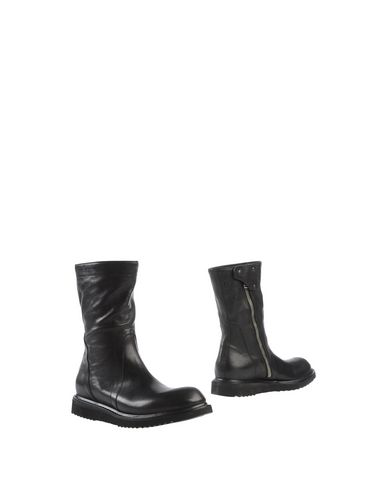 Rick Owens Ankle Boot In Black