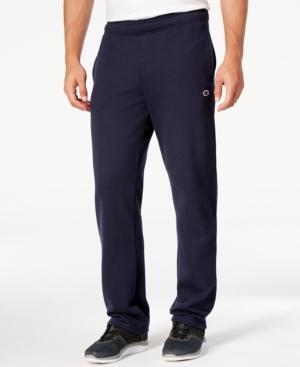 Champion Men's Fleece Powerblend Pants In Navy