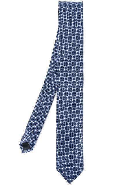 Dolce & Gabbana Patterned Tie - Blue