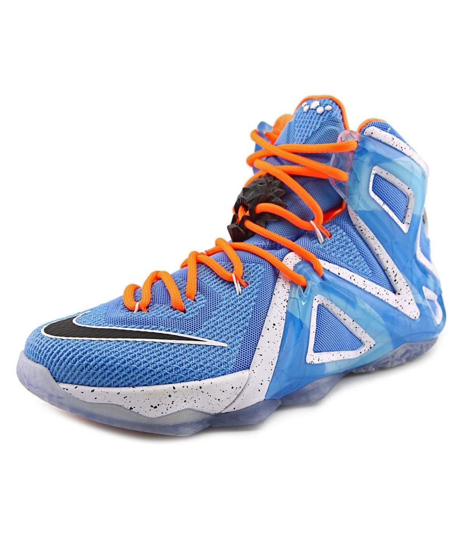purchase cheap 0c887 1142e Nike Lebron Xii Elite Men Round Toe Synthetic Blue Basketball Shoe'