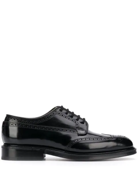 Church's 'Grafton' OmbrÉ Leather Brogue Derbies In F0Aab / Black