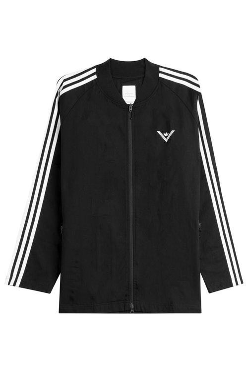 White Mountaineering Zipped Cotton Jacket In Multicolored