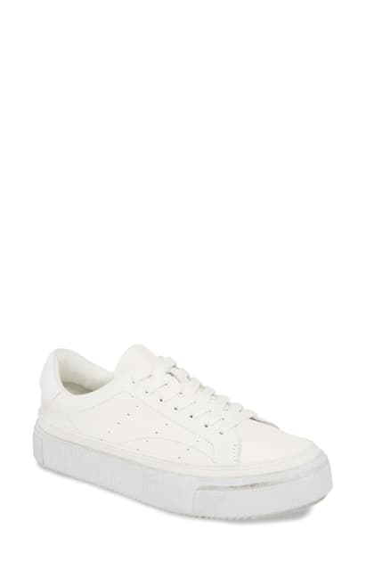 Allsaints Trish Platform Sneaker In White