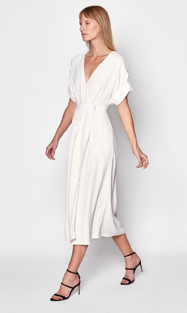 Equipment Tavine Midi Dress In Bout De Lune