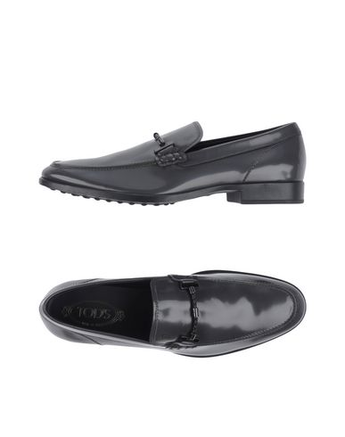 Tod's Loafers In Lead