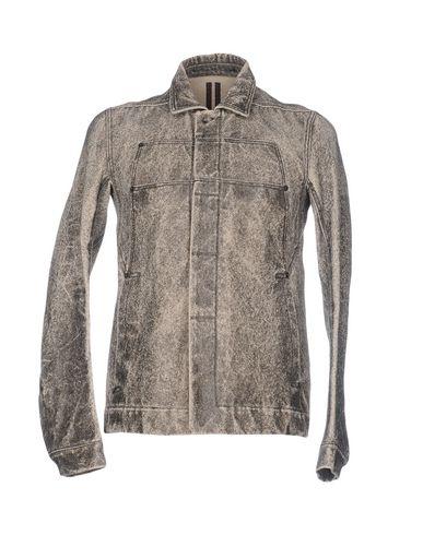 Rick Owens Drkshdw Jackets In Steel Grey