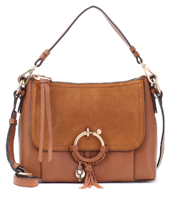 See By ChloÉ Joan Small Leather Shoulder Bag In 242 Caramel