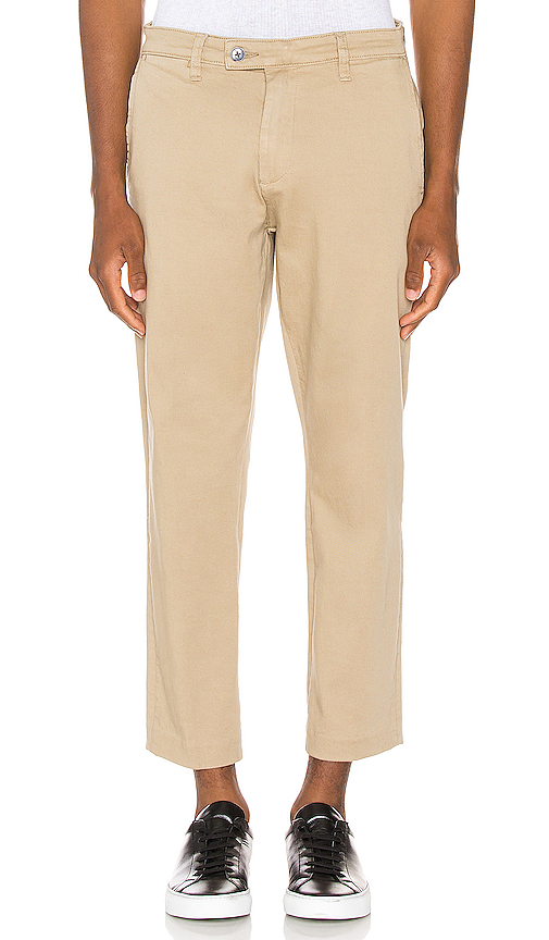 Rolla's Relaxo Cropped Pant In Sandman