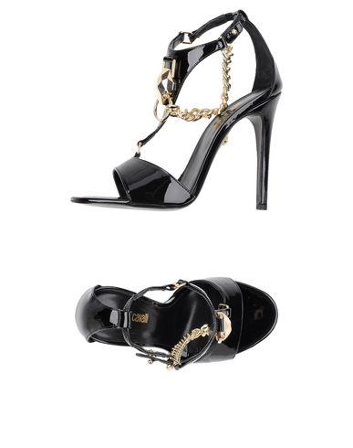 Just Cavalli Sandals In Black