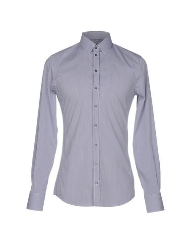 Dolce & Gabbana Checked Shirt In Dark Blue