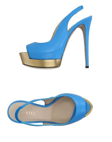 Le Silla Sandals In Azure