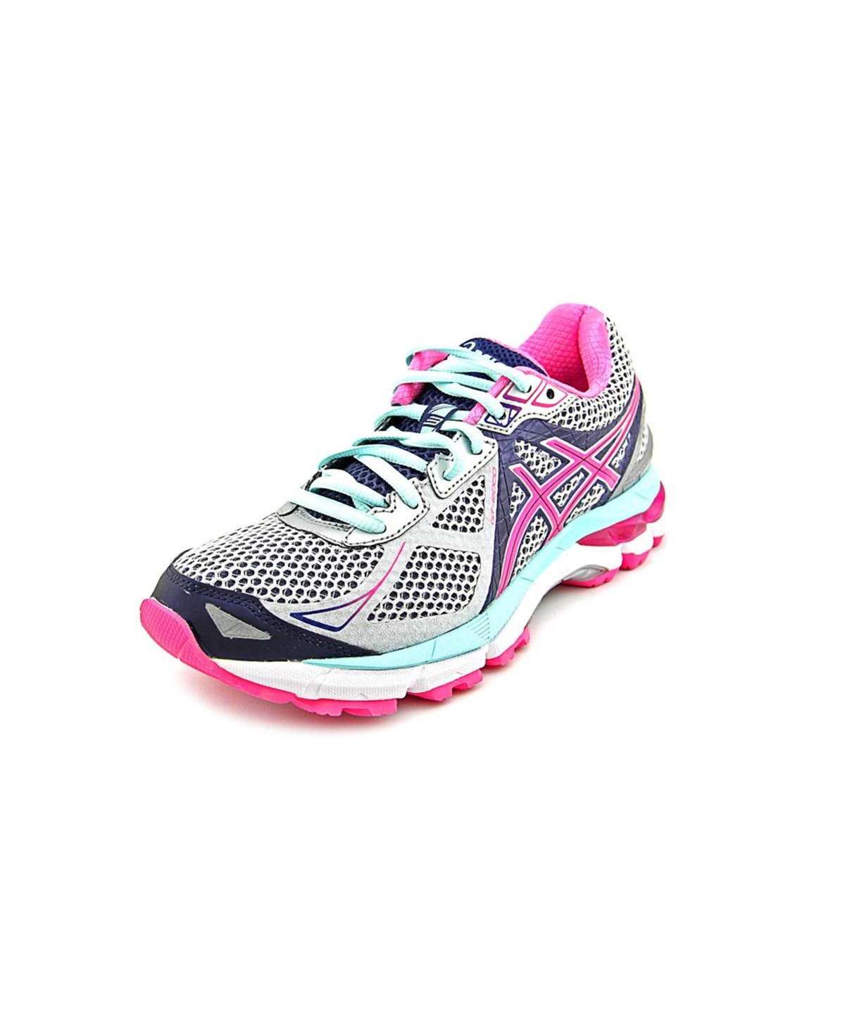 Asics Gt-2000 3 Women  Round Toe Synthetic Pink Running Shoe'