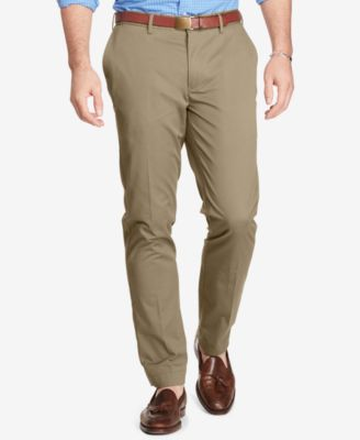 Polo Ralph Lauren Men's Big & Tall Classic-fit Stretch Chino Pants In Beige