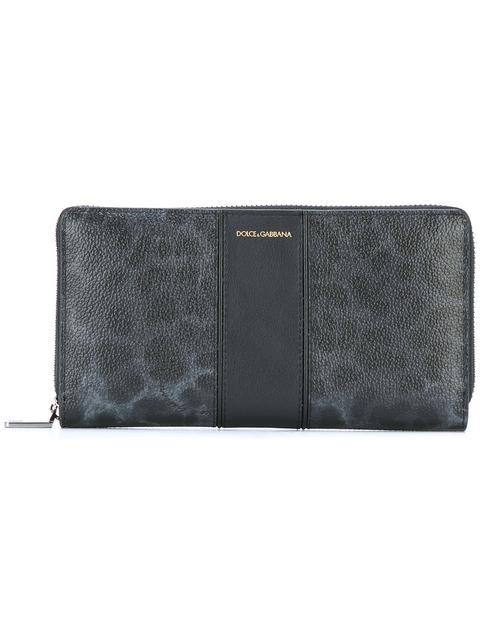 Dolce & Gabbana Leopard Print Long Wallet