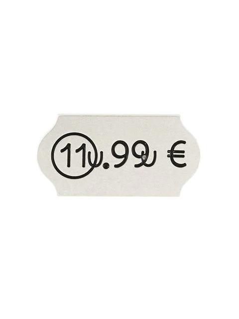 Maison Margiela Price Sticker Brooch - Metallic