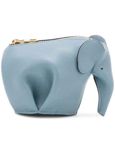 Loewe SchlÜSselanhÄNger Mit Elefanten-Motiv In Blue
