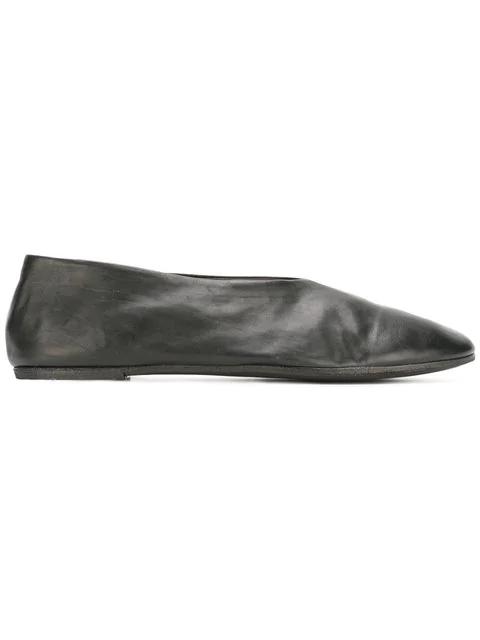 MarsÈLl Black Coltellacio Ballerina Flats