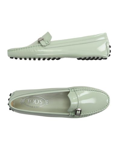 Tod's Loafers In Light Green