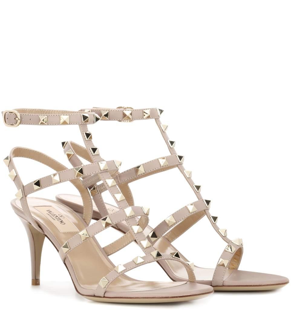 Valentino Garavani Garavani Rockstud Leather Sandals