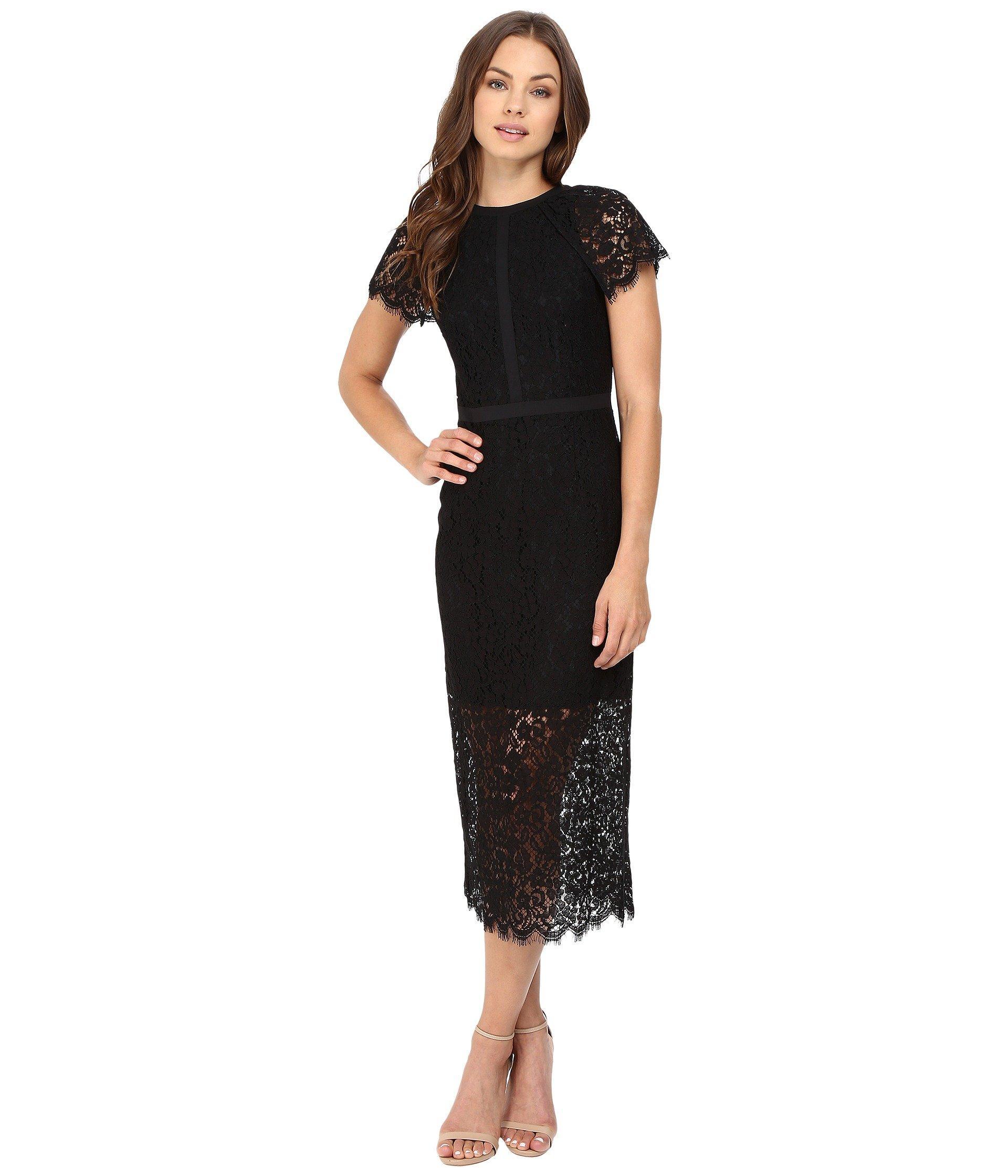 Rachel Zoe Cairo Dress In Black