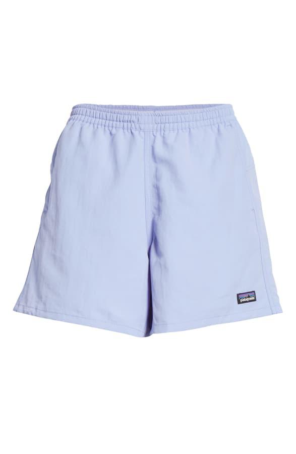Patagonia Baggies Shorts In Light Violet Blue