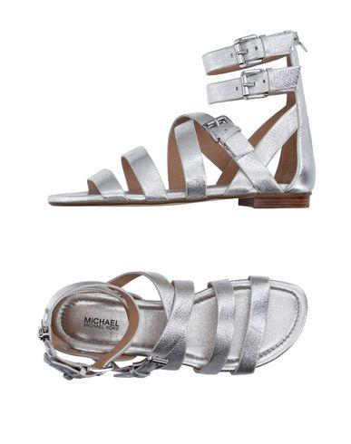 Michael Michael Kors Sandals In Silver