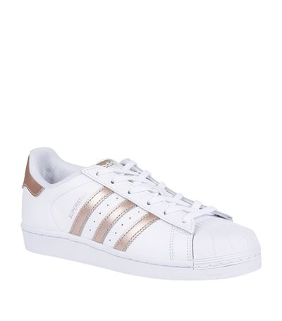 adidas originals superstar rose gold toe