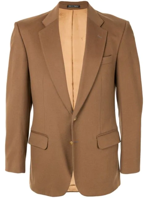 Burberry Long Sleeve Jacket In Brown