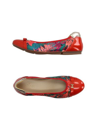 Hogan Ballet Flats In Red