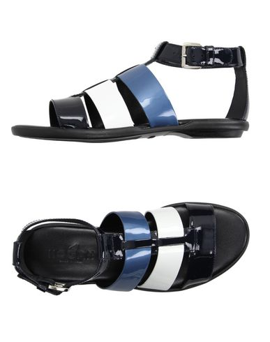 Hogan Sandals In Dark Blue