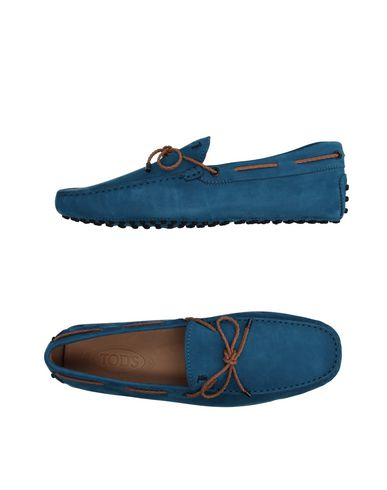 Tod's Loafers In Azure