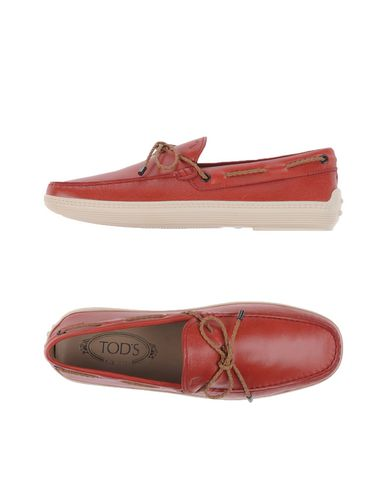 Tod's Sneakers In Brick Red