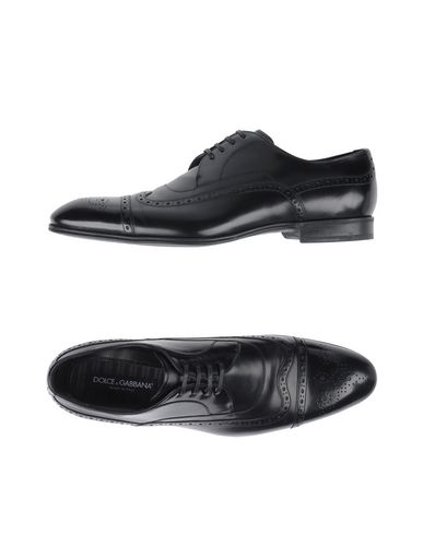Dolce & Gabbana Laced Shoes In Black