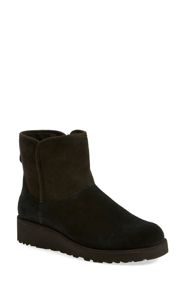 Ugg Kristin Classic Slim&Trade; Mini Boot In Black Suede