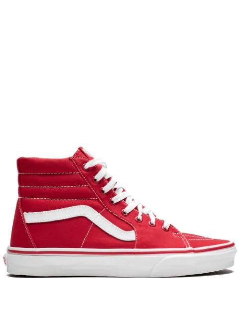Vans Sk8-hi Sneakers In Red