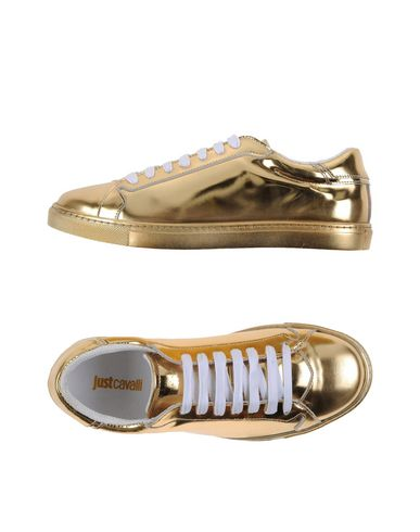 Just Cavalli Sneakers In Gold