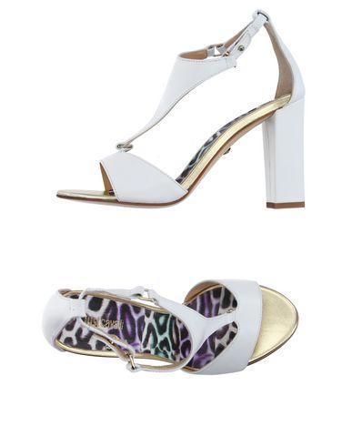 Just Cavalli Sandals In White